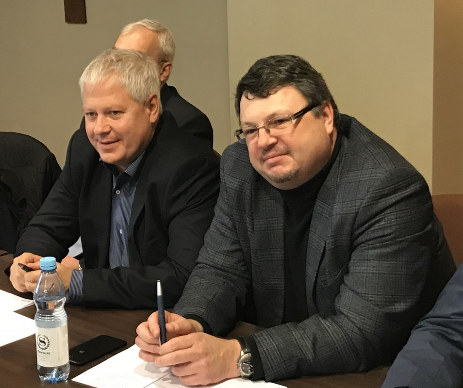 Evgeny Apasov (right), Vadim Mardanov (left)