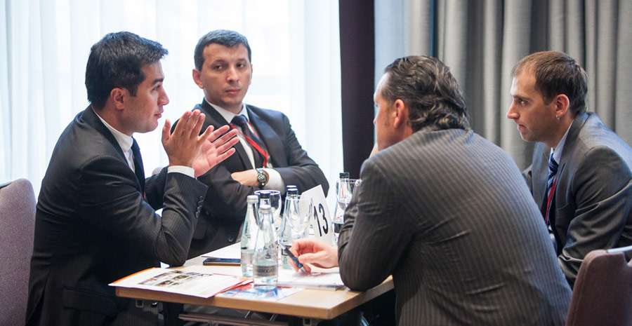 Kamran Gasimov and Kamran Aleskerov in the first conference ACEX